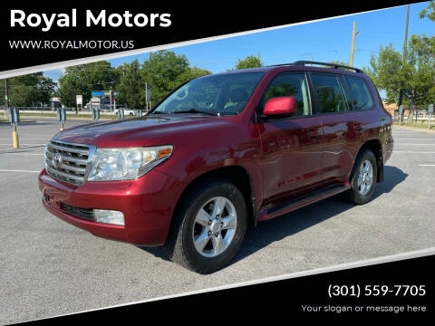 2008 Toyota Land Cruiser for sale at Royal Motors in Hyattsville MD