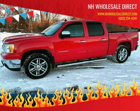 2011 GMC Sierra 1500 for sale at NH WHOLESALE DIRECT in Derry NH