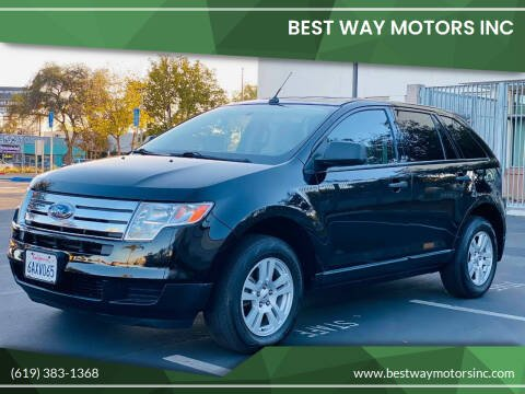 2007 Ford Edge for sale at BEST WAY MOTORS INC in San Diego CA