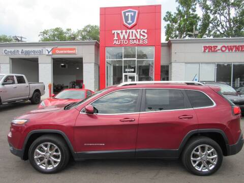 2015 Jeep Cherokee for sale at Twins Auto Sales Inc Redford 1 in Redford MI