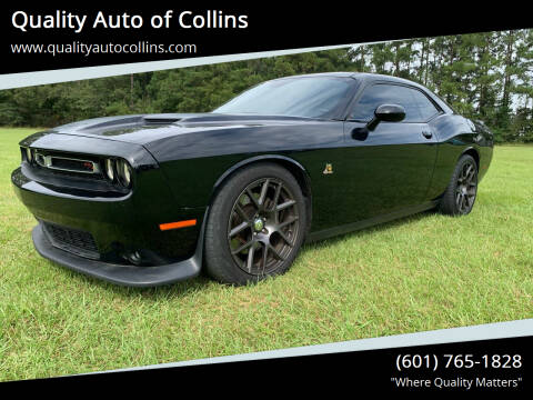 2016 Dodge Challenger for sale at Quality Auto of Collins in Collins MS