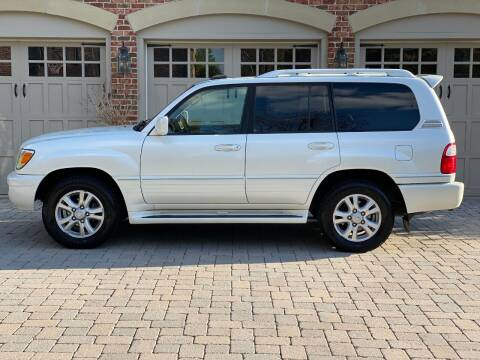 2005 Lexus LX 470 for sale at AVAZI AUTO GROUP LLC in Gaithersburg MD