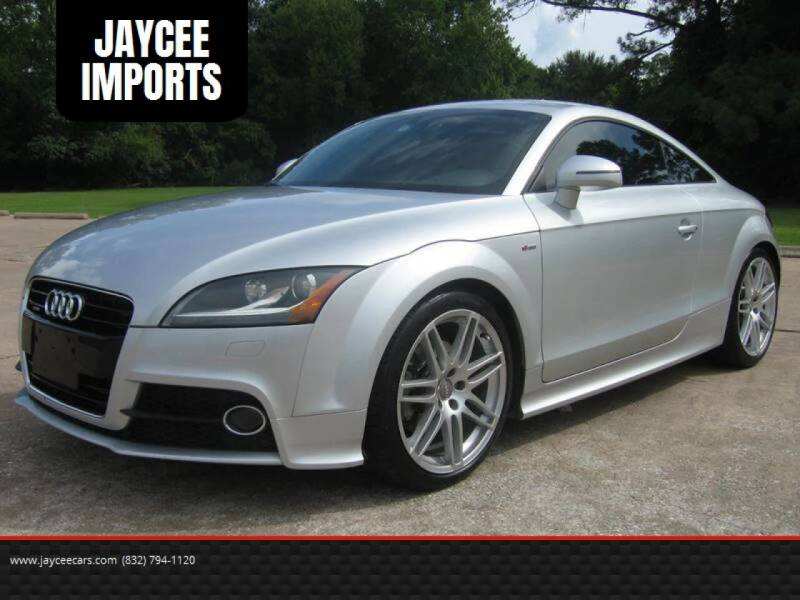 2011 Audi TT for sale at JAYCEE IMPORTS in Houston TX