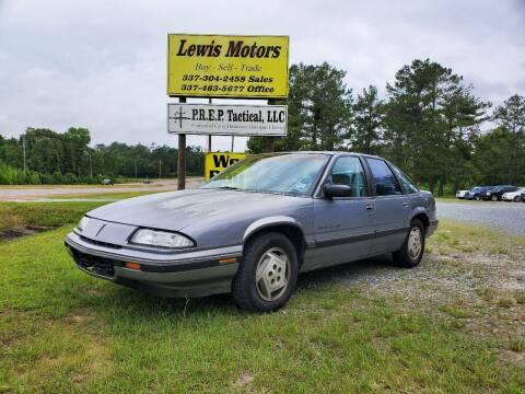1990 Pontiac Grand Prix for sale at Lewis Motors LLC in Deridder LA