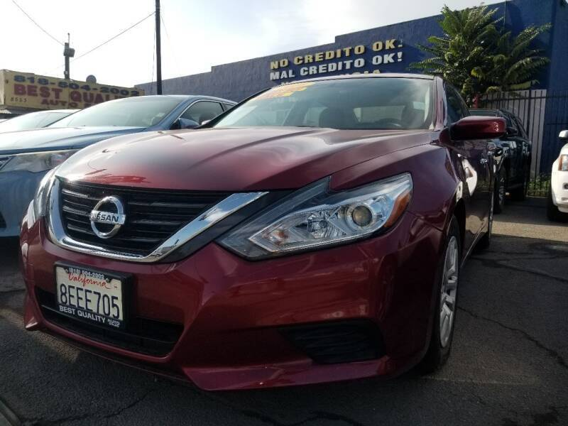 2016 Nissan Altima for sale at Best Quality Auto Sales in Sun Valley CA