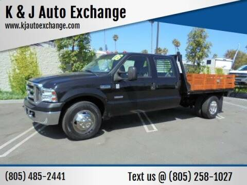 2006 Ford F-350 Super Duty for sale at K & J Auto Exchange in Santa Paula CA