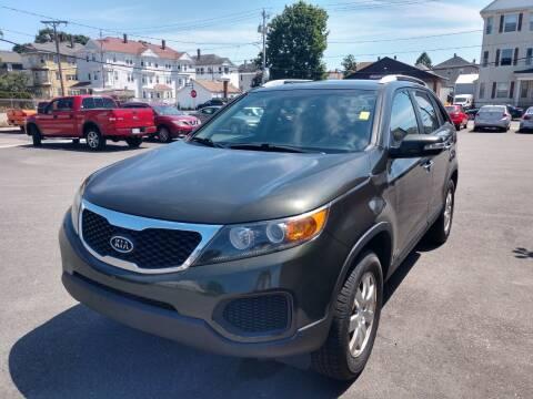 2011 Kia Sorento for sale at A J Auto Sales in Fall River MA