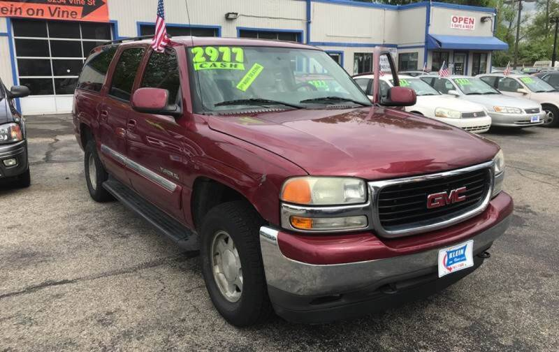 2005 GMC Yukon XL for sale at Klein on Vine in Cincinnati OH