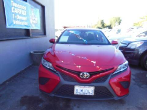 2019 Toyota Camry for sale at Top Notch Auto Sales in San Jose CA