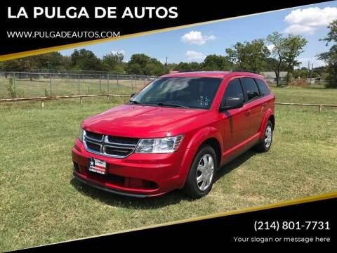 2014 Dodge Journey for sale at LA PULGA DE AUTOS in Dallas TX