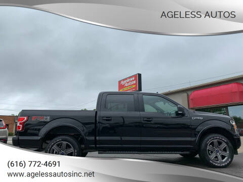 2020 Ford F-150 for sale at Ageless Autos in Zeeland MI