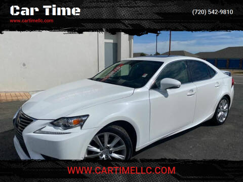 2014 Lexus IS 250 for sale at Car Time in Denver CO