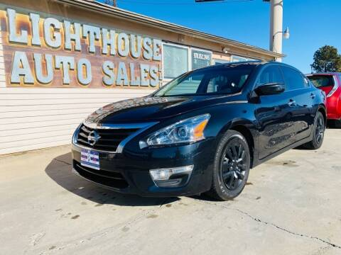 2014 Nissan Altima for sale at Lighthouse Auto Sales LLC in Grand Junction CO