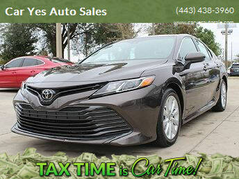 2018 Toyota Camry for sale at Car Yes Auto Sales in Baltimore MD
