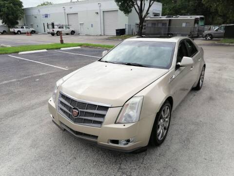 2009 Cadillac CTS for sale at Best Price Car Dealer in Hallandale Beach FL