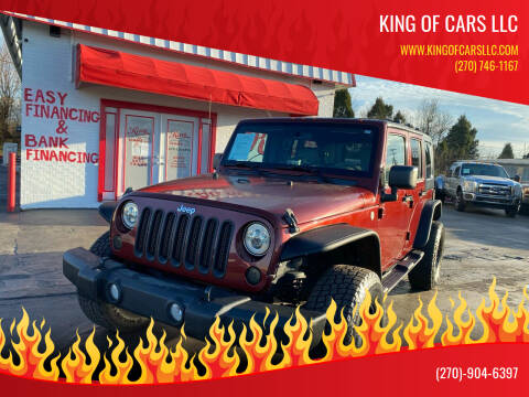 2010 Jeep Wrangler Unlimited for sale at King of Cars LLC in Bowling Green KY