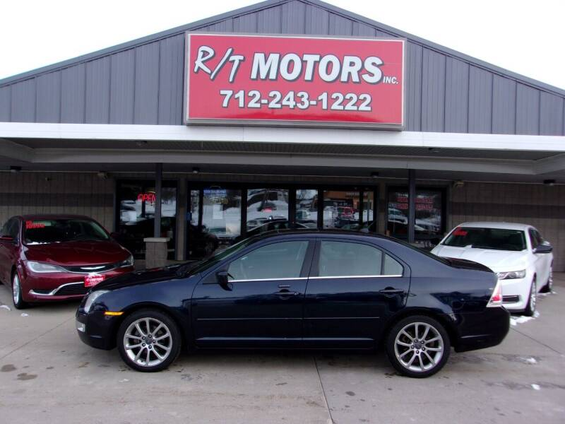 2009 Ford Fusion for sale at RT Motors Inc in Atlantic IA