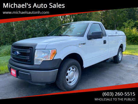 2013 Ford F-150 for sale at Michael's Auto Sales in Derry NH