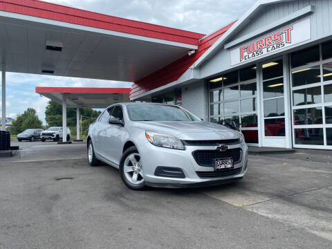 2016 Chevrolet Malibu Limited for sale at Furrst Class Cars LLC  - Independence Blvd. in Charlotte NC