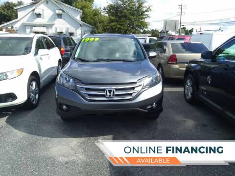 2014 Honda CR-V for sale at Marino's Auto Sales in Laurel DE