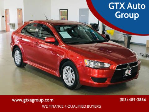 2013 Mitsubishi Lancer Sportback for sale at GTX Auto Group in West Chester OH