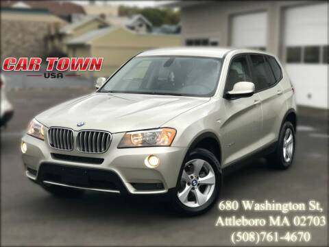 2011 BMW X3 for sale at Car Town USA in Attleboro MA