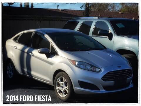2014 Ford Fiesta for sale at ASTRO MOTORS in Houston TX