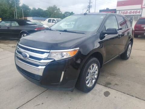 2012 Ford Edge for sale at Quallys Auto Sales in Olathe KS
