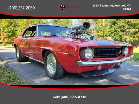 1969 Chevrolet Camaro for sale at Auto Solutions in Kalispell MT