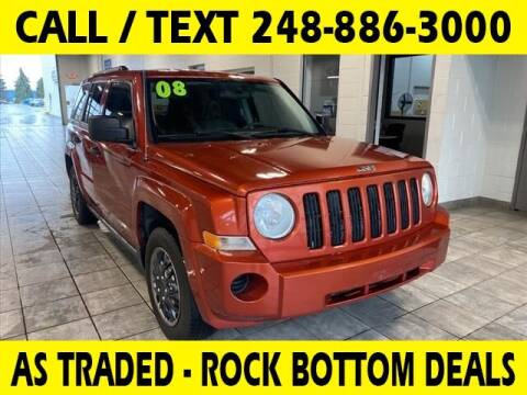 2008 Jeep Patriot for sale at Lasco of Waterford in Waterford MI