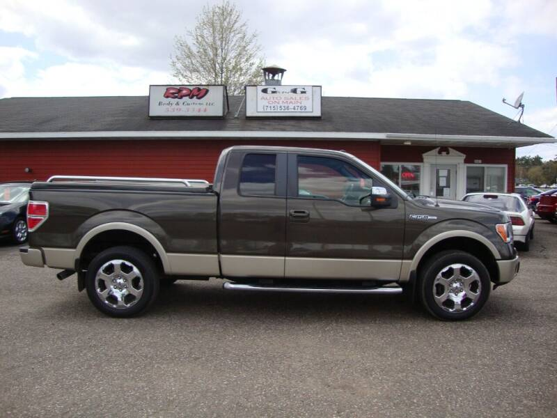 2009 Ford F-150 for sale at G and G AUTO SALES in Merrill WI