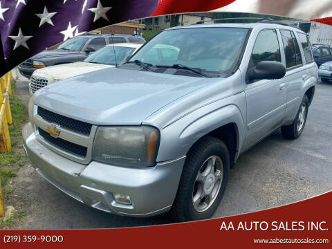 2009 Chevrolet TrailBlazer for sale at AA Auto Sales Inc. in Gary IN