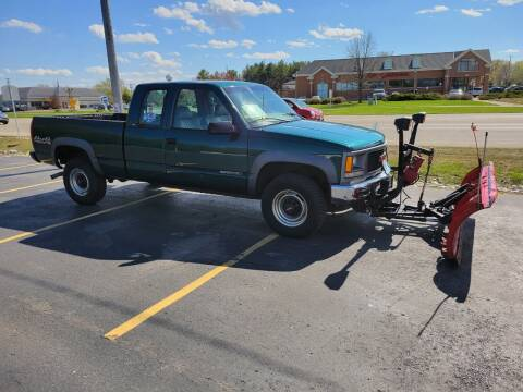 1998 GMC Sierra 2500 for sale at SINDIC MOTORCARS INC in Muskego WI