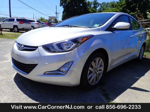 2015 Hyundai Elantra for sale at Car Corner INC in Vineland NJ