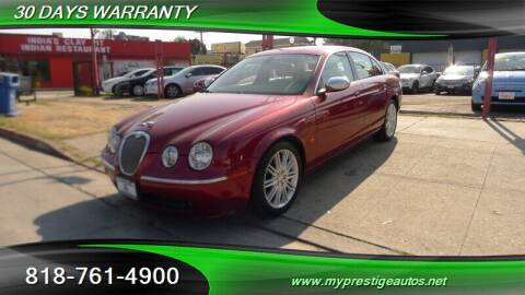 2007 Jaguar S-Type for sale at Prestige Auto Sports Inc in North Hollywood CA