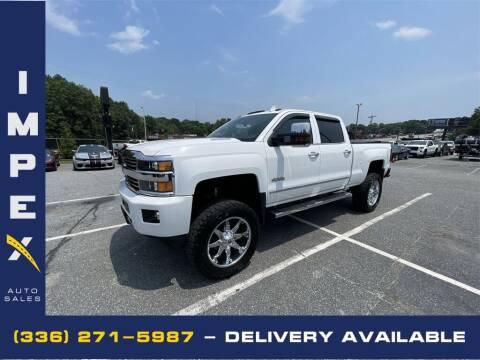2015 Chevrolet Silverado 2500HD for sale at Impex Auto Sales in Greensboro NC
