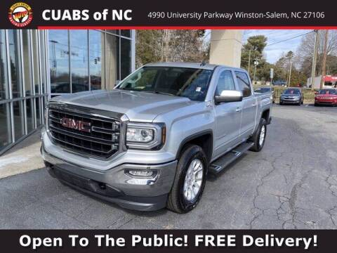 2018 GMC Sierra 1500 for sale at Credit Union Auto Buying Service in Winston Salem NC