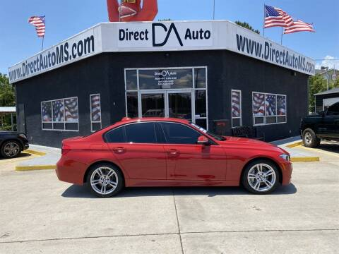 2017 BMW 3 Series for sale at Direct Auto in D'Iberville MS