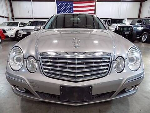 2007 Mercedes-Benz E-Class for sale at Texas Motor Sport in Houston TX