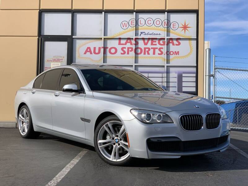2014 BMW 7 Series for sale at Las Vegas Auto Sports in Las Vegas NV