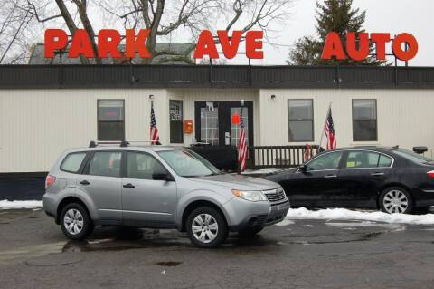 2009 Subaru Forester for sale at Park Ave Auto Inc. in Worcester MA
