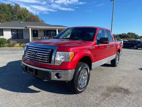 2012 Ford F-150 for sale at Triple A's Motors in Greensboro NC