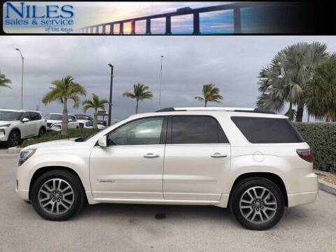 2014 GMC Acadia for sale at Niles Sales and Service in Key West FL