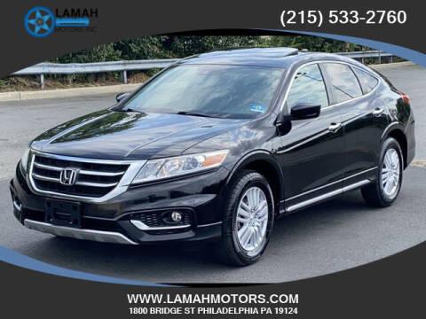 2013 Honda Crosstour for sale at LAMAH MOTORS INC in Philadelphia PA