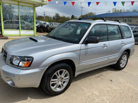 2004 Subaru Forester for sale at Super Trooper Motors in Madison WI
