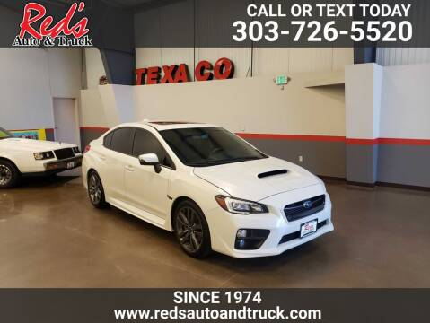 2017 Subaru WRX for sale at Red's Auto and Truck in Longmont CO