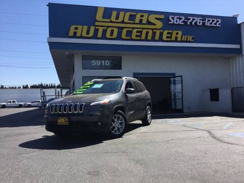 2015 Jeep Cherokee for sale at Lucas Auto Center in South Gate CA