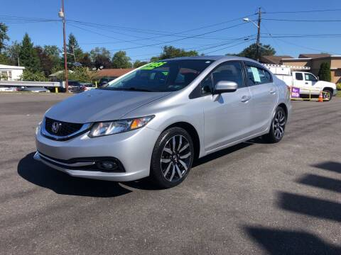2015 Honda Civic for sale at Majestic Automotive Group in Cinnaminson NJ