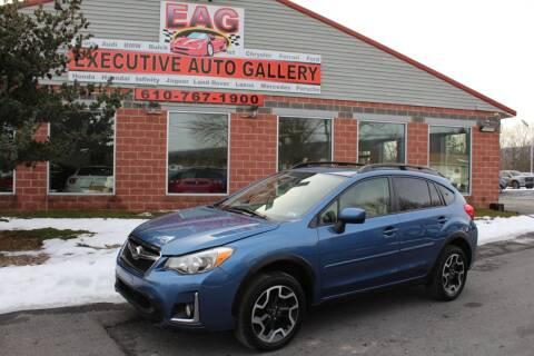 2017 Subaru Crosstrek for sale at EXECUTIVE AUTO GALLERY INC in Walnutport PA