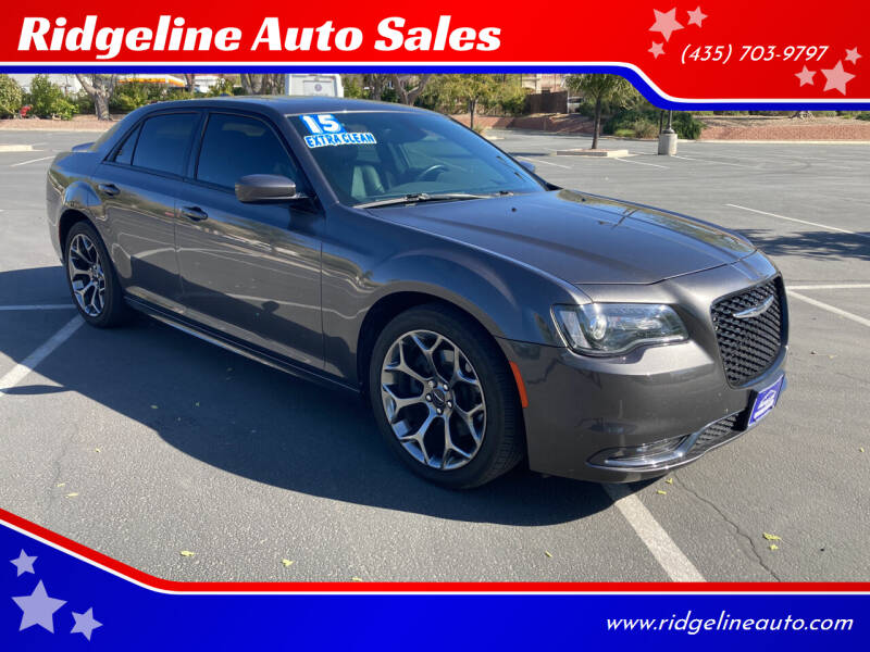 2015 Chrysler 300 for sale at Ridgeline Auto Sales in Saint George UT
